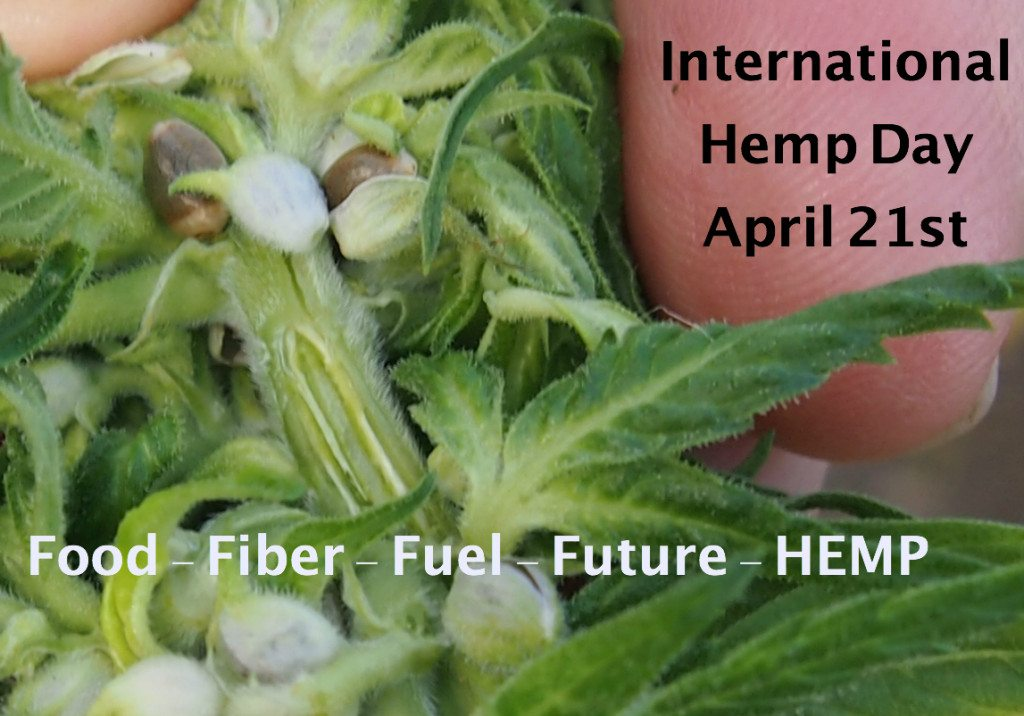 International Hemp Day Food - Fiber - Fuel - Future - HEMP